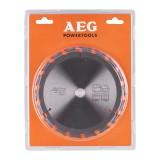 Panza AEG pentru fierastrau circular portabil, dimensiuni 165x15,8xz18, grosime 1,5mm, pentru taieri fine in materiale lemnoase