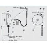 Echilibror de greutate, model 9200, 0.4-0.8kg, 1350mm
