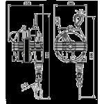 Echilibror de greutate, model 9370, 75-90kg, 2000mm