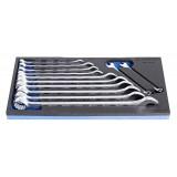 Set de chei combinate lungi 8-24 mm Unior in modul SOS, art. 964/2ASOS