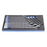 Set de chei combinate IBEX lungi 8-24 mm Unior in modul SOS, art. 964/2BSOS