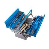 Trusa profesionala de scule Unior pentru mecanici auto TSA, art. 911/5 ak1, in cutie metalica