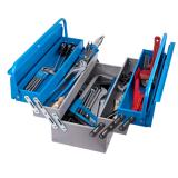 Trusa profesionala de scule Unior pentru instalatori TSI, art. 911/5 ak2, in cutie metalica